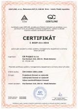 ISO BOZP 18001 2016